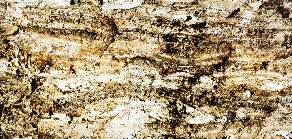 Feuille de pierre 100% naturelle translucide Goa de face