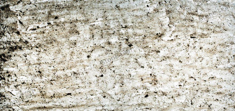 Feuille de pierre 100% naturelle translucide Madrid de face