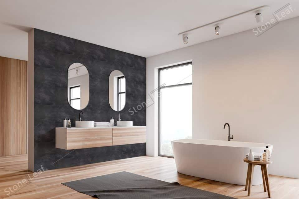 Feuille de pierre 100% naturelle Londres salle de bain