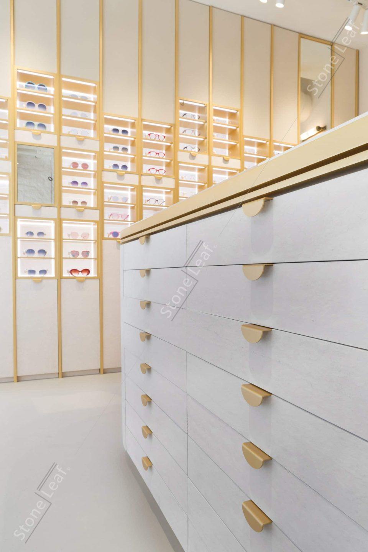 Feuille de pierre 100% naturelle Helsinki sur mobilier