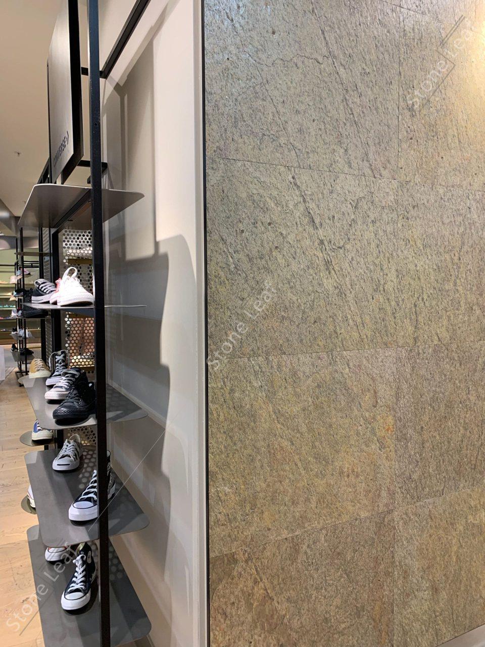 Feuille de pierre 100% naturelle Kuala Lumpur dans une boutique