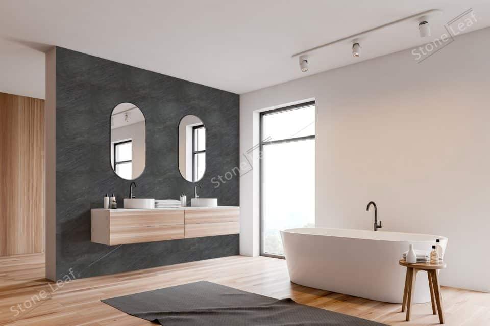 Feuille de pierre 100% naturelle New York salle de bain