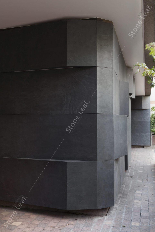 Feuille de pierre 100% naturelle façade extérieure new york