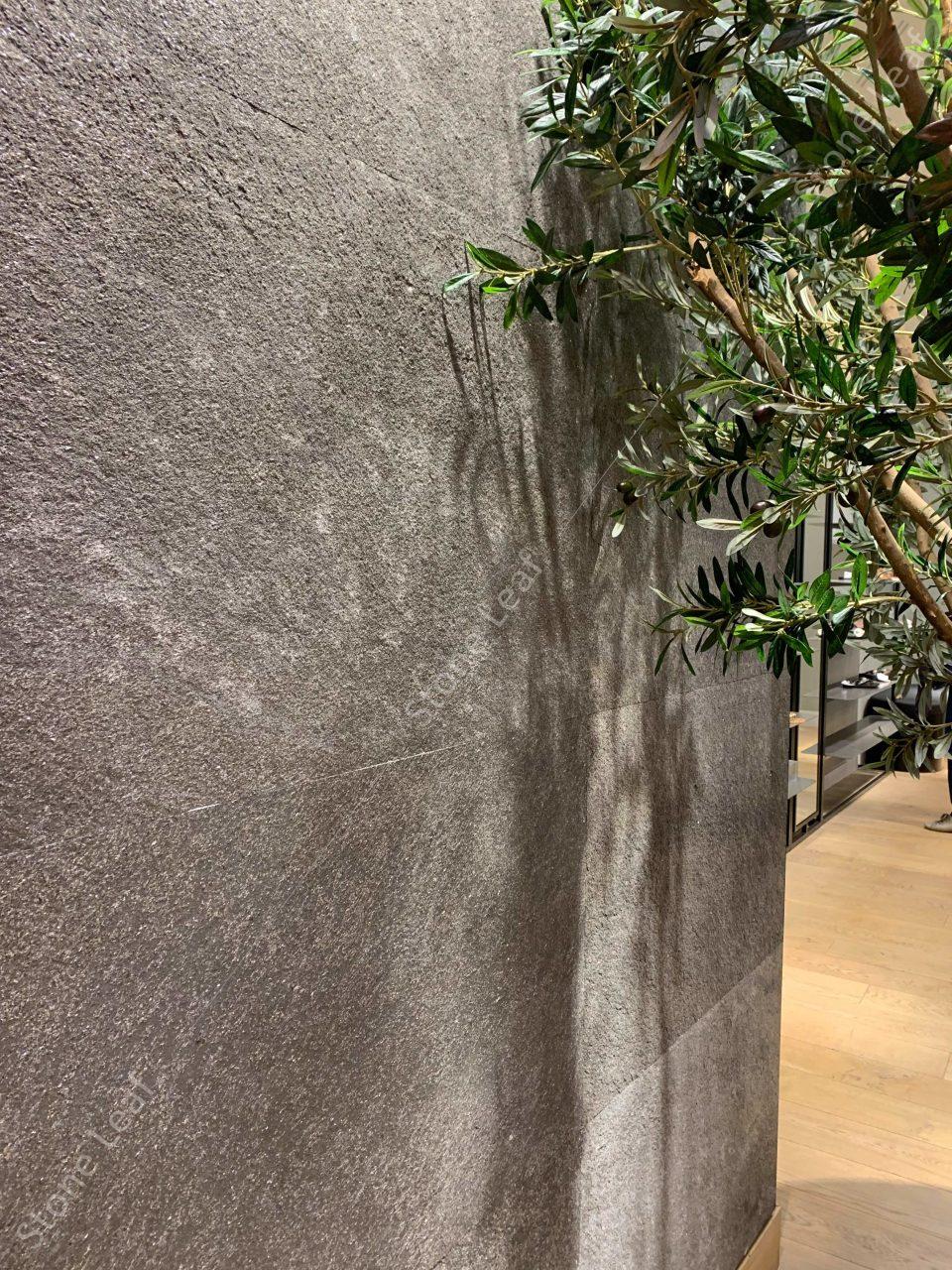 Feuille de pierre 100% naturelle Canberra en application murale