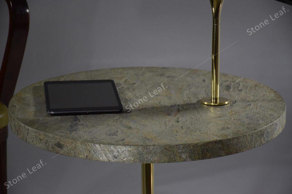 Feuille de pierre 100% naturelle en revêtement de tablette
