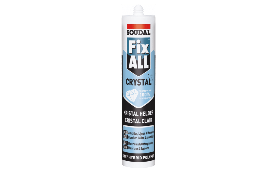 Colle Fix ALL Crystal cartouche 290ml StoneLeaf