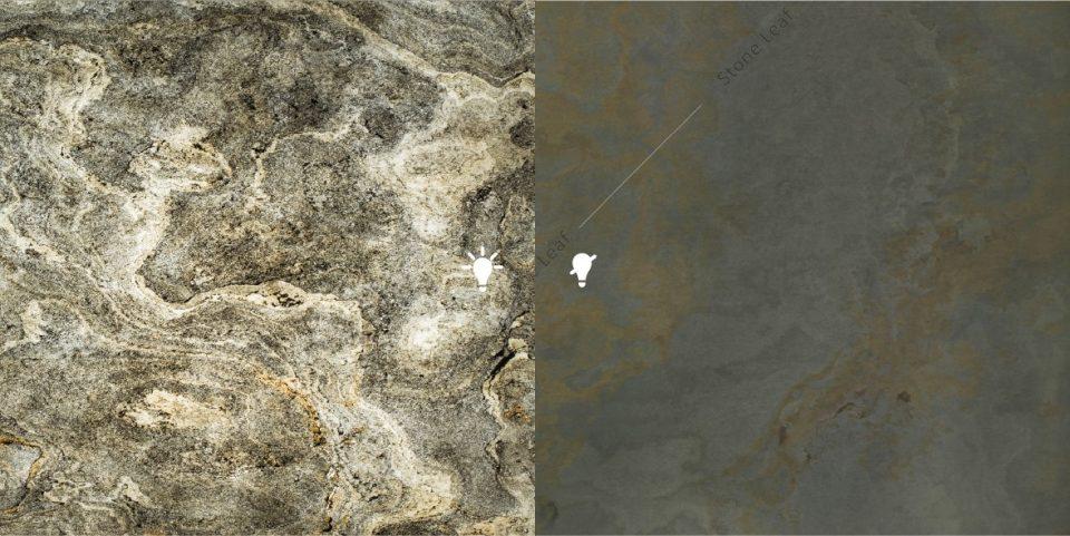 Feuille de pierre 100% naturelle Translucide Montréal