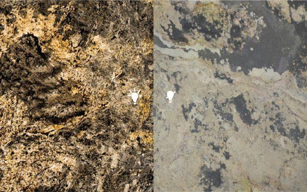 Feuille de pierre 100% naturelle Translucide Moscou