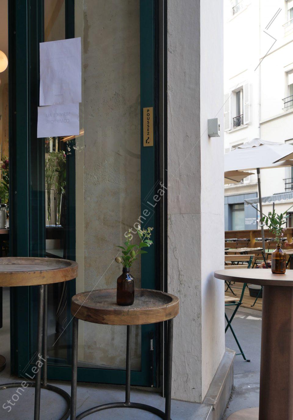 Facade restaurant en feuille de pierre Helsinki