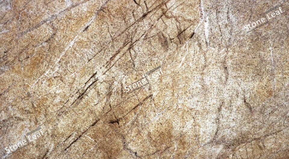 Feuille de pierre 100% naturelle translucide Pretoria de face