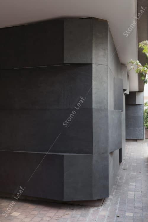 Feuille de pierre 100% naturelle en façade extérieure