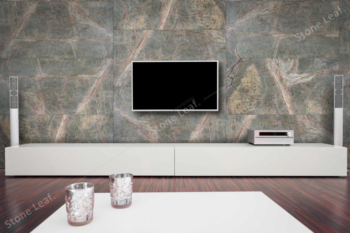 Feuille de pierre 100% naturelle revêtement décoration