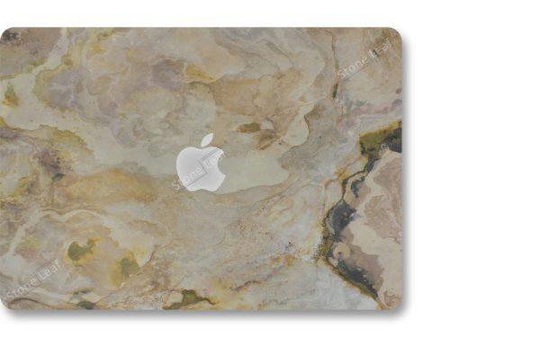 Coque cover MacBook feuille de pierre 100% naturelle Prague StoneLeaf