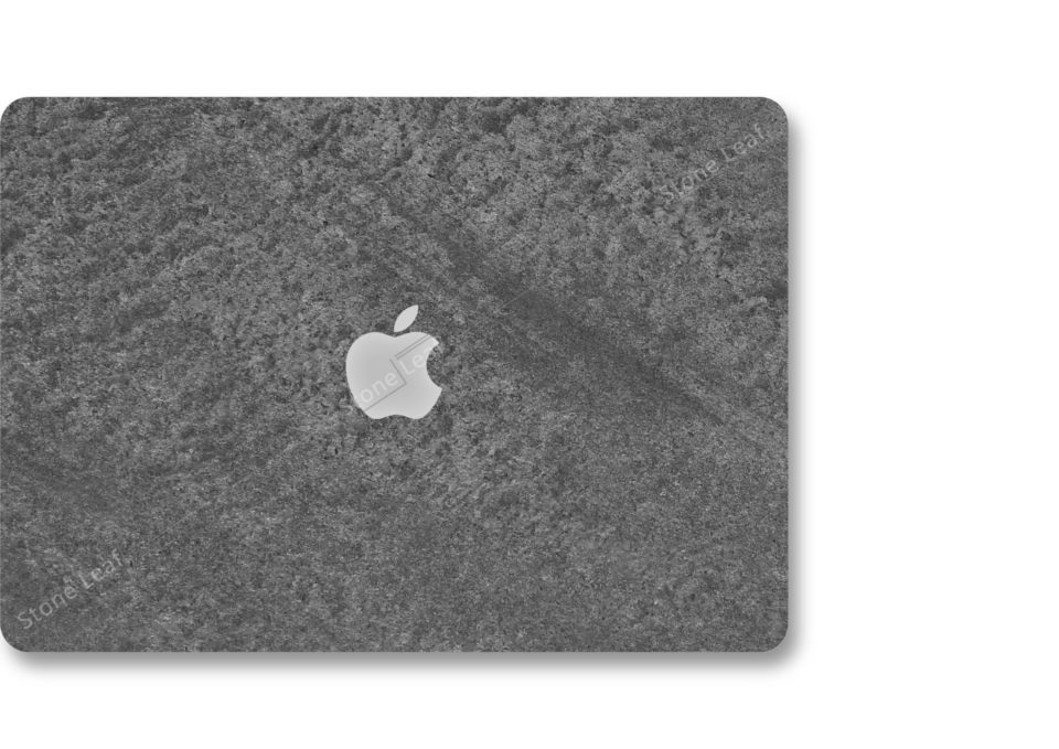 Coque cover MacBook feuille de pierre 100% naturelle Canberra StoneLeaf