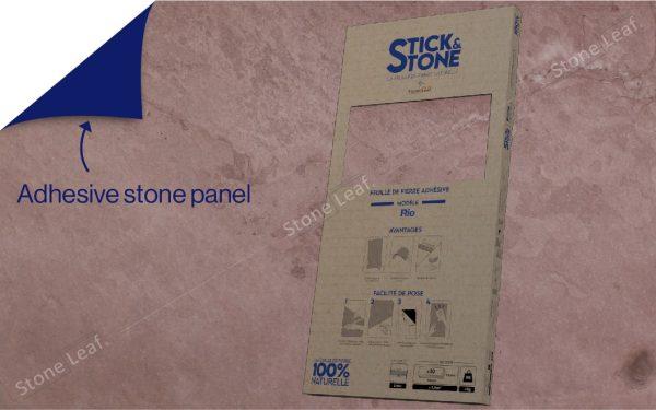 100% natural & adhesive stone sheets Rio model