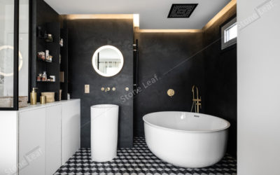 How to decorate your bathroom with stone sheets ?