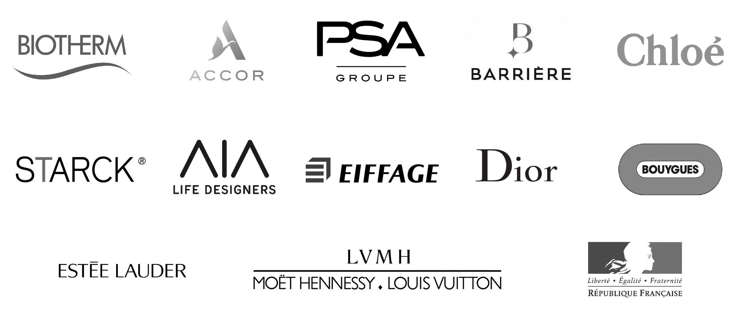 Planche logos clients